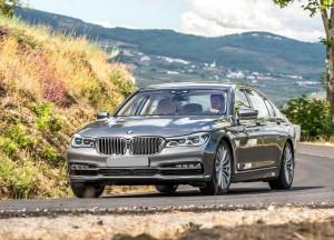 BMW 7 Series 2015, вид спереди