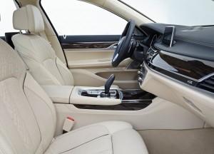 BMW 7 Series 2015, передние сиденья