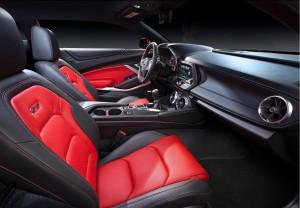 Chevrolet Camaro, передние сиденья