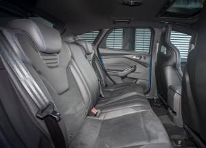 Ford Focus RS 2015, задние сиденья
