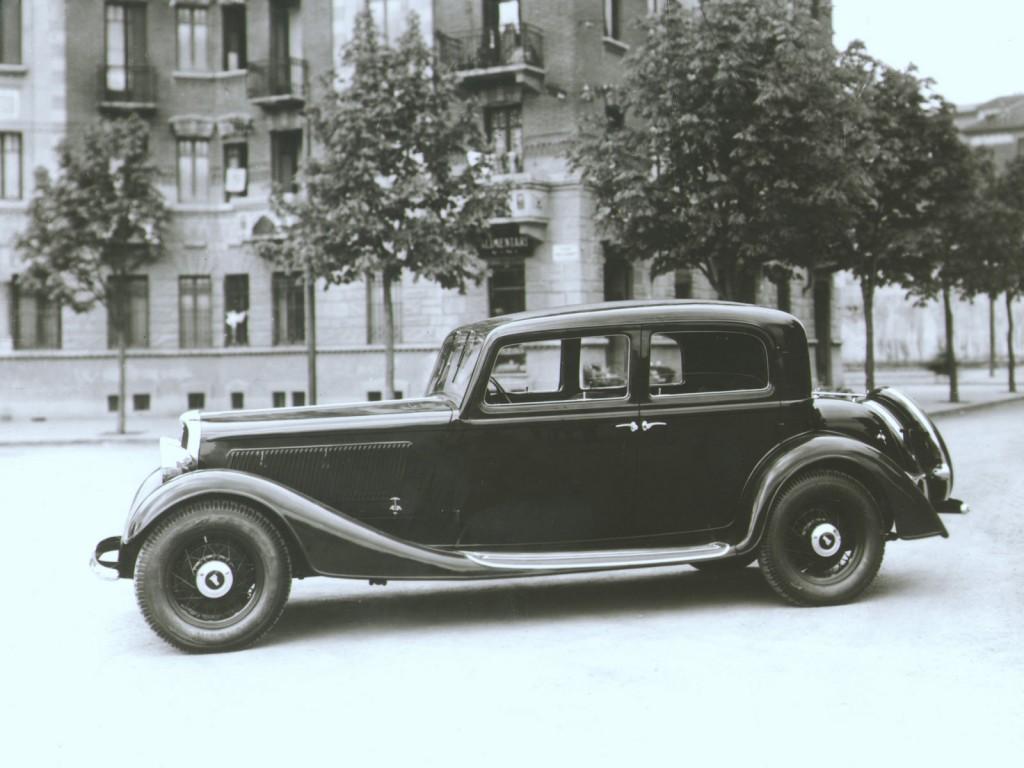 Fiat 527 Ardita 2500 1934 года – первая работа Нуччо Бертоне