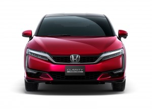Honda Clarity Fuel Cell 2015, вид спереди