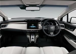 Honda Clarity Fuel Cell, передняя панель