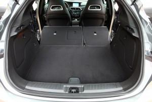 Новый Infiniti Q30, багажник