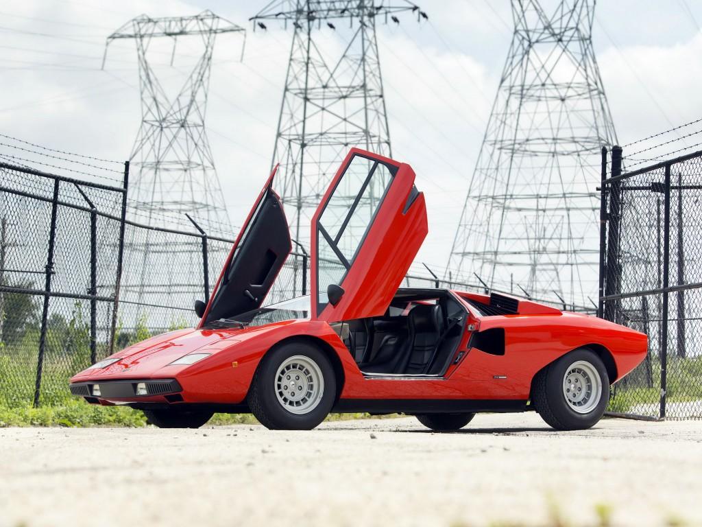 Lamborghini Countach 1974 года