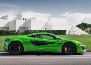 McLaren 570S 2015, вид сбоку