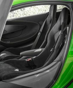 McLaren 570S, сиденья