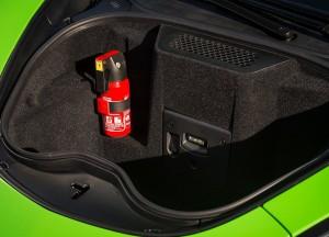 McLaren 570S 2015, багажник