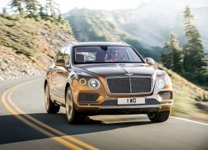 Bentley Bentayga 2016, вид спереди