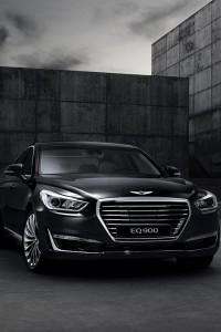 Hyundai Genesis G90 2016, вид спереди