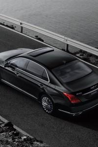 Hyundai Genesis G90, вид сверху