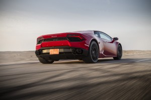 Lamborghini Huracan LP580-2 2016, вид сзади