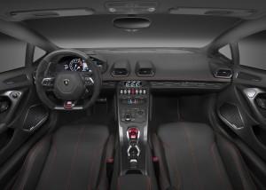 Lamborghini Huracan LP580-2 2016, передняя панель