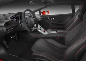 Lamborghini Huracan LP580-2, передние сиденья