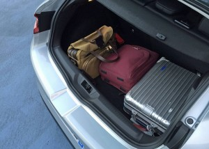 Renault Megane 2016, багажник