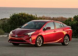 Toyota Prius, вид на переднюю диагональ