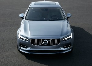 Volvo S90 2016, вид спереди