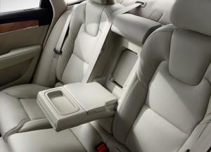 Новый Volvo S90, задние сиденья