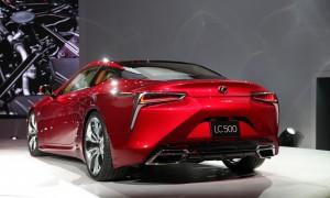 Lexus LC500 2016