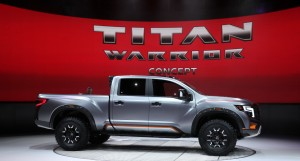 Nissan Titan Warrior 2016