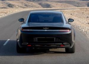 Aston Martin Lagonda Taraf, вид сзади