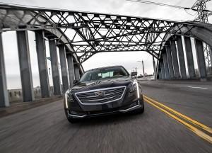 Cadillac CT6 2016, вид спереди