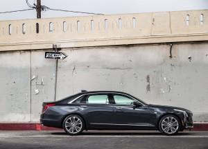 Cadillac CT6 2016, вид сбоку