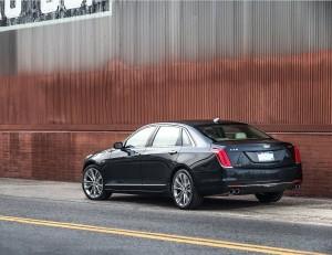 Cadillac CT6 2016, вид сзади