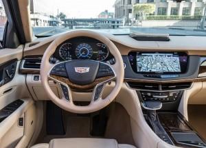 Cadillac CT6, передняя панель