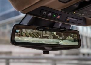 Cadillac CT6, камера в зеркале заднего вида