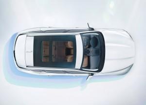 Новый Jaguar F-Pace, вид сверху