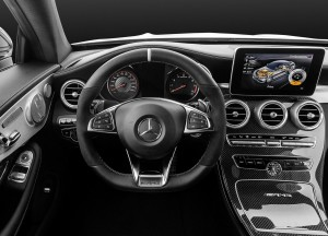 Mercedes-Benz C63 AMG Coupe 2016, передняя панель