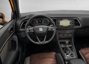 Новый Seat Ateca, передняя панель