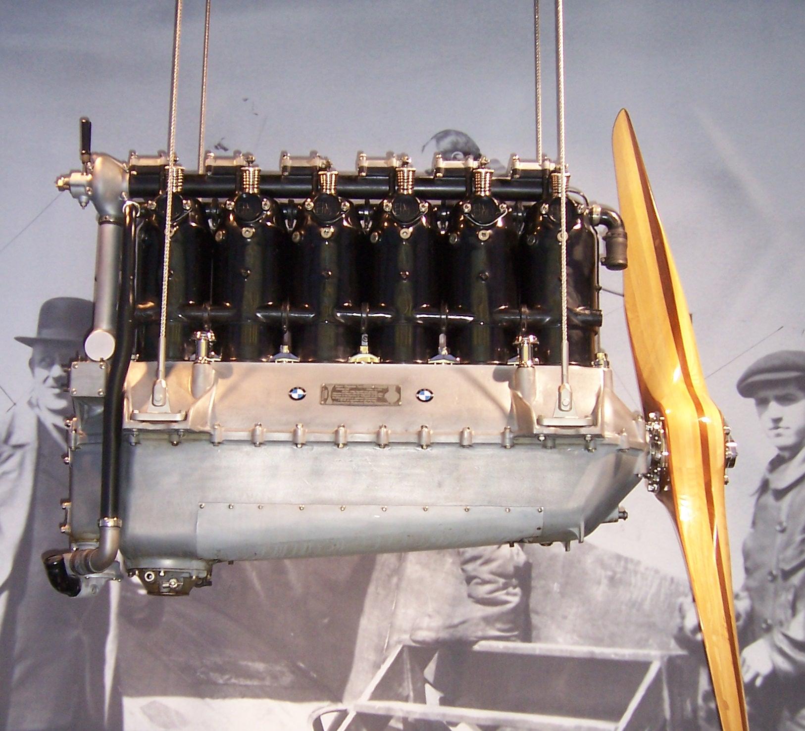 Первый авиадвигатель БМВ 3