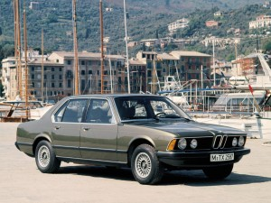 Флагманский BMW 7 Series, 1977 год