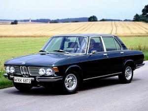 BMW 2500 из семейства New Six, 1968 год