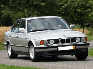 BMW 5 Series 1987 года