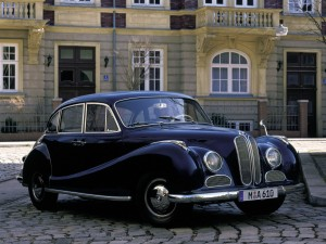 "BMW 501 1952 года - ""Ангел бароко"""