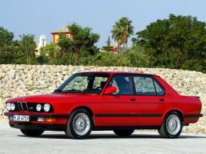 BMW M5 1985 года