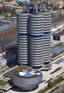 BMW Towers напоминает цилиндры двигателя