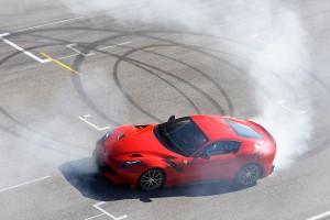 Ferrari F12tdf 2016, вид сверху