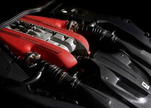 Ferrari F12tdf, двигатель