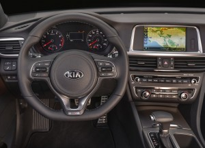 Новый Kia Optima, передняя панель