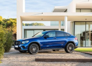 Mercedes-Benz GLC Coupe, вид сбоку