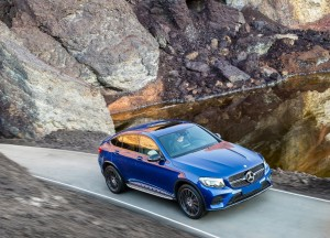 Mercedes-Benz GLC Coupe 2016, вид сверху