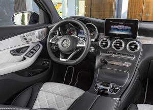 Mercedes-Benz GLC Coupe, передняя панель