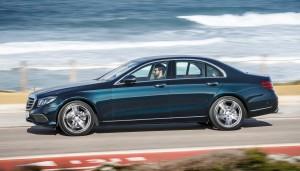 Mercedes-Benz E-Class W213, вид сбоку