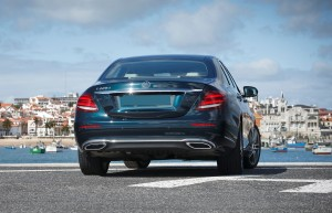 Mercedes-Benz E-Class 2016, вид сзади