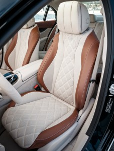 Mercedes-Benz E-Class W213, передние сиденья