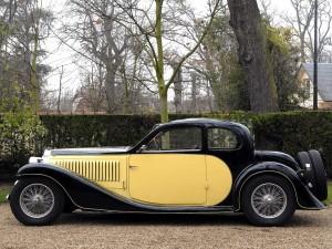 Купе Bugatti Type 57 Ventoux 1935 года